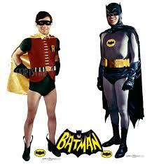 cardboard cut out halloween decorations classic batman robin 1960s tv series cardboard cutout standup
