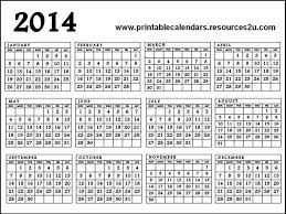 printable calendar year on one page 2014 calendar on one page gidiye redformapolitica co
