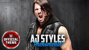 theme song quiz wwe aj styles theme song phenomenal lyrics official video