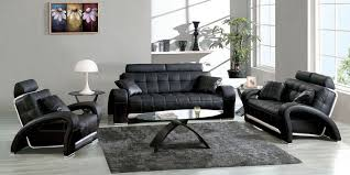 Modern Contemporary Leather Sofas Modern Contemporary Black Leather Sofa Set New 2018 2019