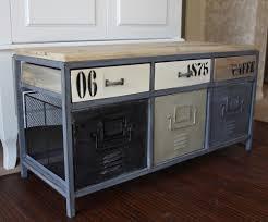 industrial storage bench metal industrial locker style storage bench melody maison