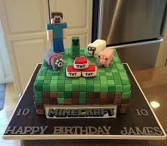 minecraft birthday cake ideas minecraft birthday cake cakecentral