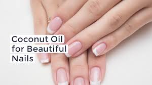 how to use coconut oil for nails