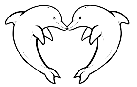 coloring pages of a heart coloring pages of dolphins with regard to invigorate in coloring