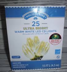 energy star led c9 lights holiday time led c9 ultra bright christmas lights warm white bulbs