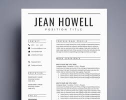 Two Page Resume Sample by Resume Template Cv Template For Word Two Page Resume Cover