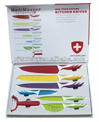coloured kitchen knives royalty line 7pcs coloured kitchen knife buy coloured kitchen
