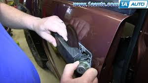 Exterior Car Door Handle Repair How To Install Replace Outside Door Handle 2004 14 Nissan Titan