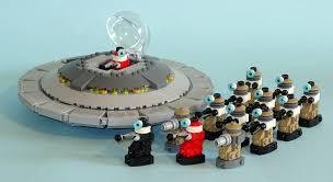 lego dalek parade by librarian bot on deviantart