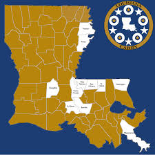 Parish Map Of Louisiana Louisiana Carry Home