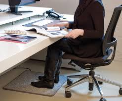 tapis chauffant bureau tapis avec chauffage intégré systec therm ag