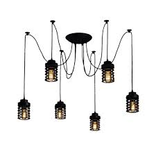 Spider Chandelier Edison Spider L With Harbour Cage Contemporary Chandelier Cult
