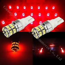 2006 hyundai sonata 3rd brake light replacement red high power t10 led 3014smd light 3rd brake light upper central