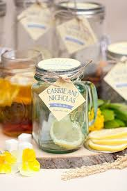 tea wedding favors cozy and sweet diy jar tea wedding favors weddingomania