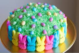 peeps easter basket diy easter peep cake