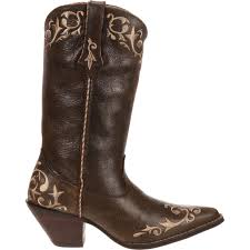 womens cowboy boots in size 12 12 s chocolate colored crush by durango pull on fashion boots