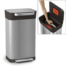 compacteur cuisine poubelle titan avec compacteur de déchets joseph joseph kookit