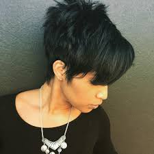 spiked hair with long bangs 50 most captivating african american short hairstyles and haircuts