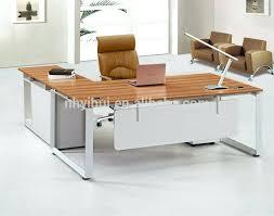 Stainless Steel Office Desk Office Desk Stainless Steel Office Desk Modern Furniture Wood