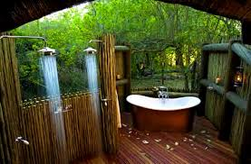 inspiring ideas of tropical outdoor bathrooms bathroom qoolie