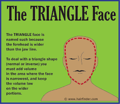 hairstyles for inverted triamgle face men triangle face shape hair pinterest face shapes