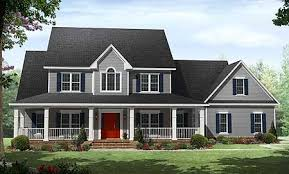 wraparound porch plan w51118mm country with wraparound porch e