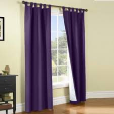 Jcpenney Purple Curtains Weathermate Solid Tab Top Curtain Panel Pair