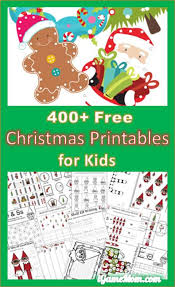 400 free christmas learning printable activities for kids
