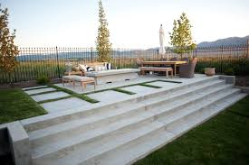 Patio With Firepit Concrete Patio Design Ideas And Cost Landscaping Network