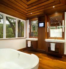 Dark Bathroom Furniture Built In Bathroom Cabinets Bathroom Transitional With Built In