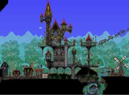terraria castle terraria gaming and video games