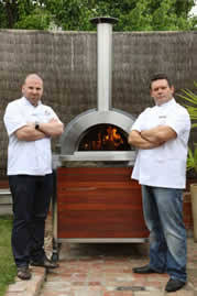 Chiminea With Pizza Oven Chiminea Melbourne Clay U0026 Cast Iron Chimineas