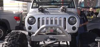 wwii jeep engine wwii themed jeep has machine gun turbos and riveted aluminum body