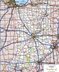 Map Of Usa With Highways by Road Map Of Indianafree Maps Of Us