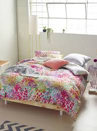 linen house giverny painterly duvet cover set simons maison