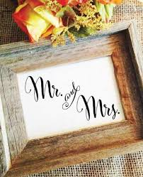 Mr And Mrs Wedding Signs Mr And Mrs Sign Wedding Sign U2013 Wedding Cheer