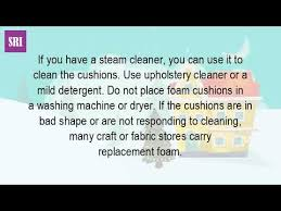 Washing Upholstery Fabric Can You Wash Your Pillows Youtube
