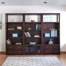 Bookcase With Drawers Pacifica 3 Piece 76