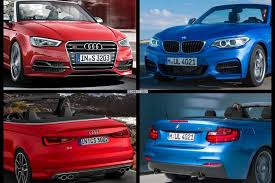 audi a3 vs bmw 3 series bmw 2 series convertible vs audi a3 convertible specs comparison