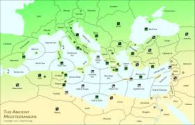 Map Of Mediterranean Countries 640spring18ad Gif