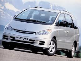 toyota previa toyota previa cars specifications technical data