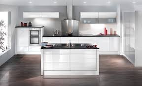 Flooring And Kitchen Cabinets For Less Image Result For What Flooring With White Gloss Kitchen Kitchens