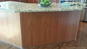 how to kitchen island adding molding to kitchen island