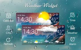 weather u0026 clock widget android apps on google play