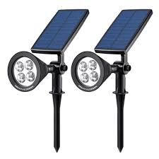 best solar flood light best outdoor waterproof solar led wall landscape security lights