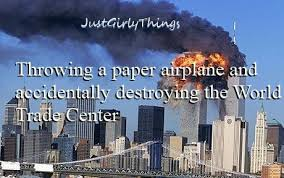 Paper Throwing Meme - throwing a paper airplane and accidentally destroying the world