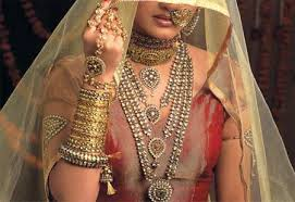 types and varieties of indian bridal jewellery