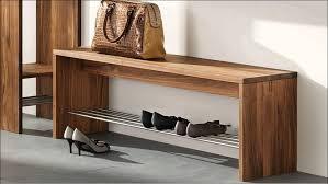 Bench Indoor Bench Furniture Slim Hallway Indoor Storage Entryway With Regard