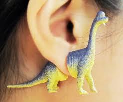 dinosaur earrings earrings