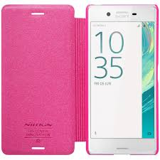 nillkin phone cases for sony xperia x performance flip pu leather